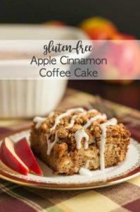 Apple Cinnamon Coffee Cake Gluten-free