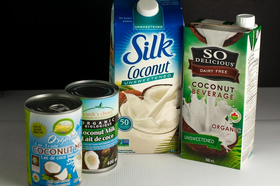 Know Your Coconut Milks. Four types of coconut milk