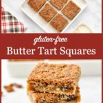 Pinterest Pin for Butter Tart Squares