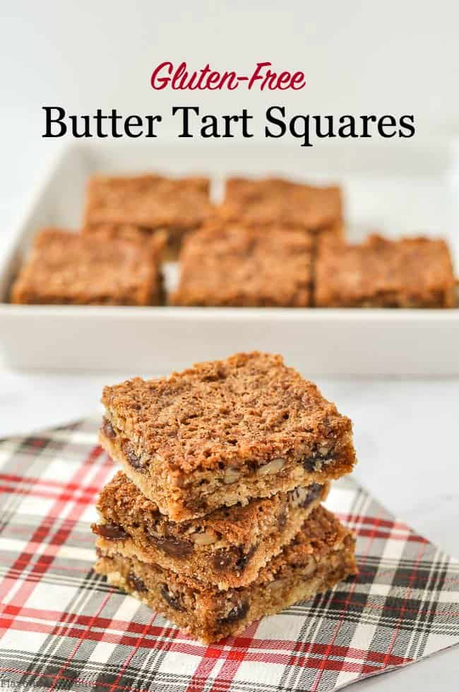 Title for Butter Tart Squares