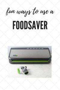 Fun Ways to Use a Foodsaver Vacuum Sealer  www.flavourandsavour.com