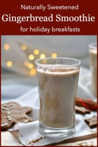Pinterest Pin 2 for Chia Gingerbread Smoothie
