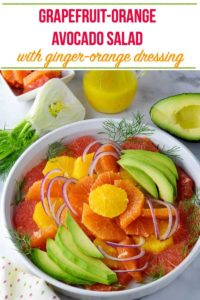 pin for Healthy Winter Citrus Salad