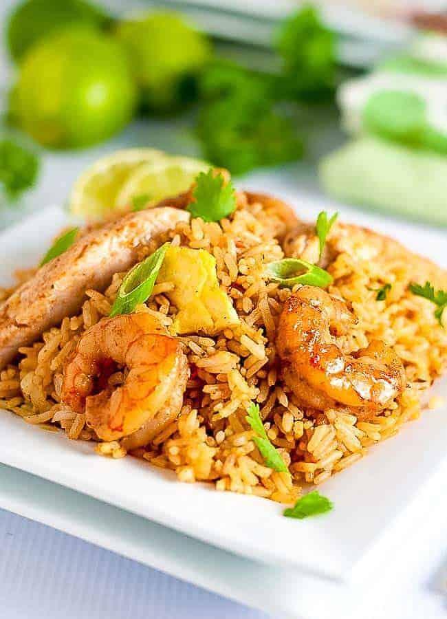 Quick Indonesian Fried Rice (Nasi Goreng)