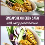 Pin for Chicken Satay with Peanut Sauce