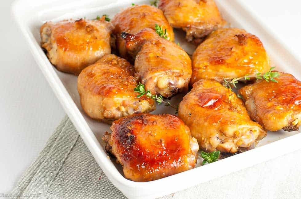 Maple Garlic Glazed Chicken