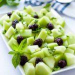 Honeydew Melon for Honeydew Blackberry Basil Salad