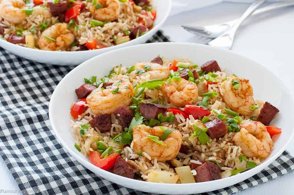Easy Cajun Shrimp Fried Rice Flavour And Savour