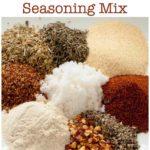 Pinterest Pin for How to Make Cajun Seasoning Mix