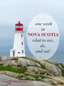 One week in Nova Scotia--what to see, do and eat!