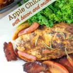 One-Pan Apple Chicken with Bacon and Onions