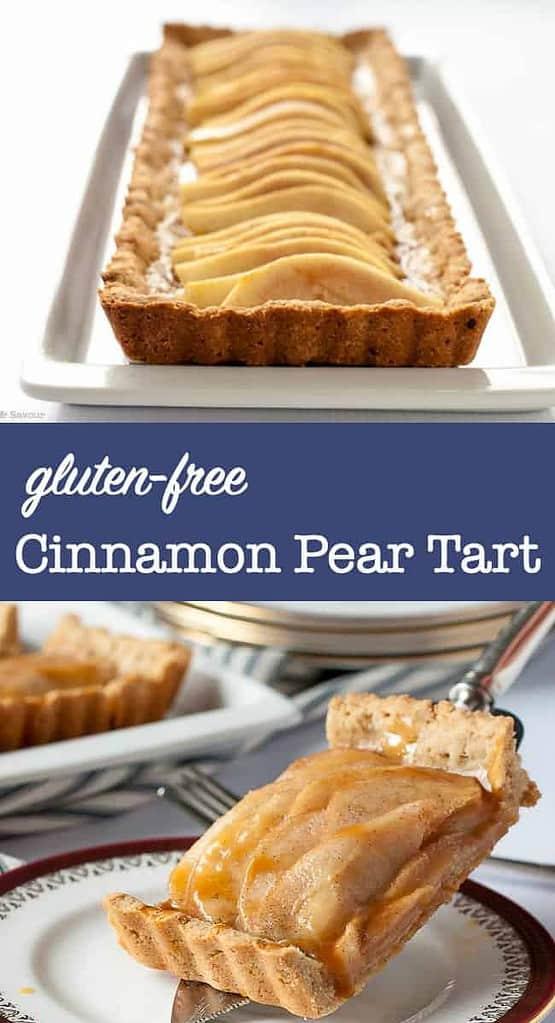 Gluten-Free Cinnamon Pear Tart pin
