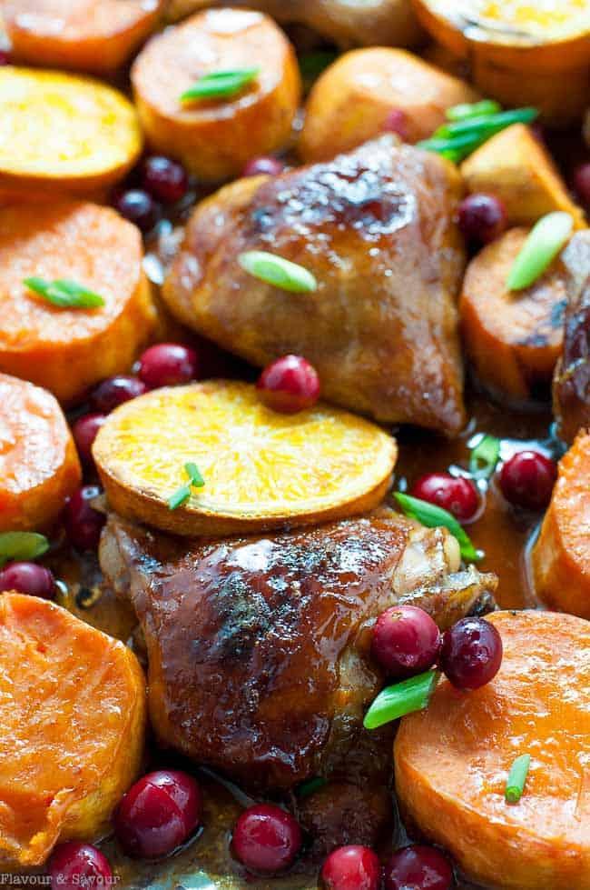 Hoisin Orange Sheet Pan Chicken Flavour And Savour