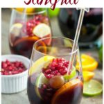 Red Wine Pomegranate Sangria pin