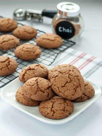 Gluten-Free Chai Spiced Snickerdoodles