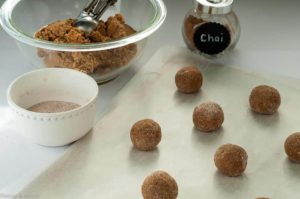 Preparing Gluten-Free Chai Spiced Snickerdoodles
