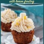 Pinterest PIn for Paleo Carrot Cake Cupcakes