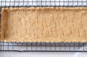 Almond Flour Crust for Lemon Curd Tart
