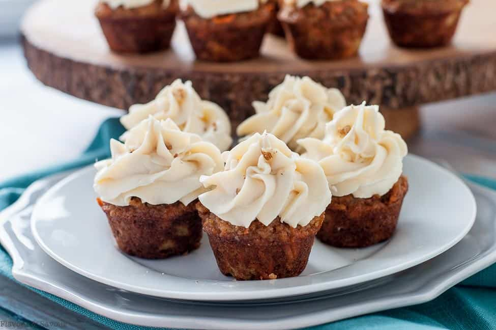 Easy Gluten Free Carrot Cake Cupcake Recipe