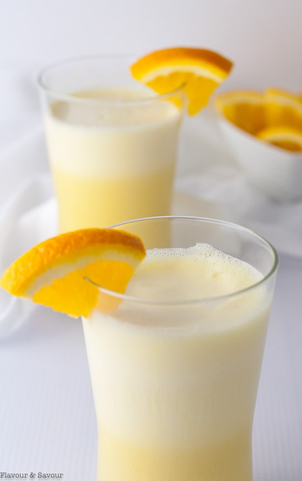 Simple Orange Collagen Creamsicle Shake