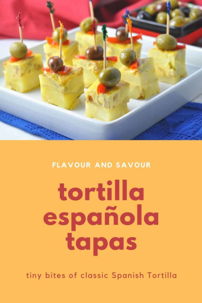 PIn for Tortilla Espanola tapas