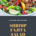 Shrimip Fajita Salad pin 2