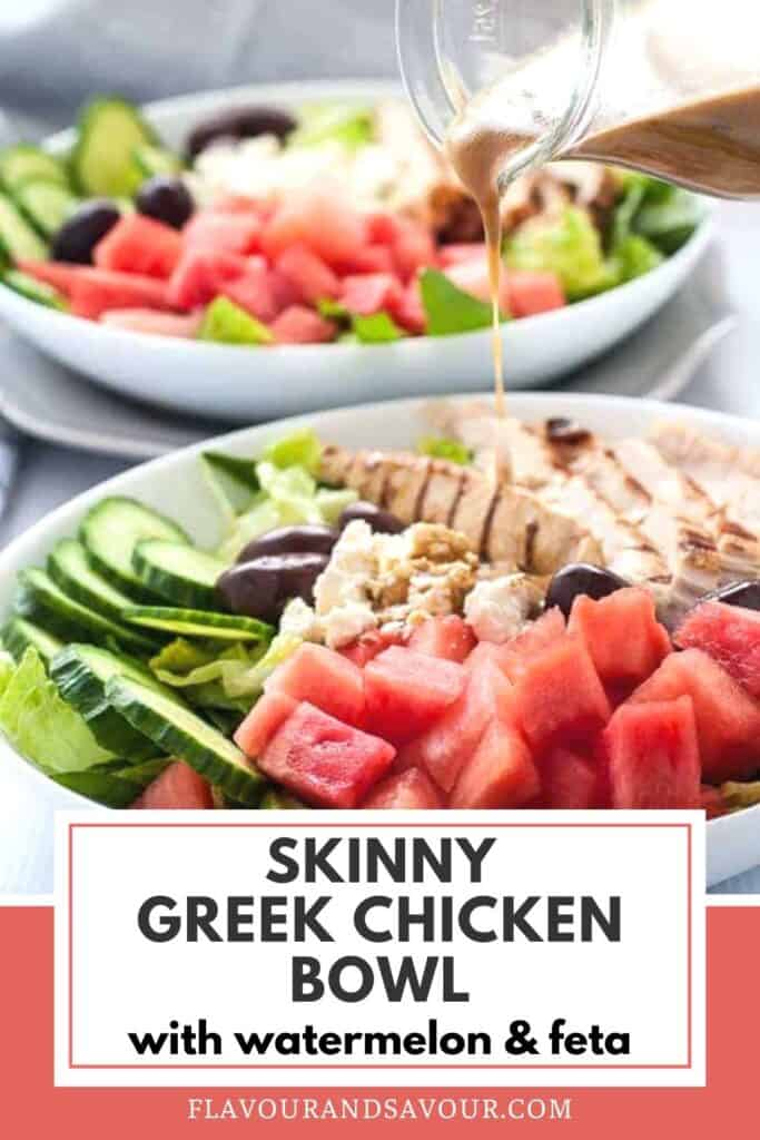 image and text for Skinny Green Chicken Bowl