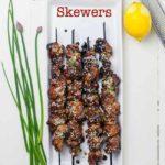 Easy Japanese Chicken Yakitori Skewers