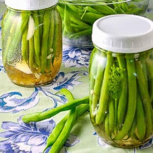 Refrigerator Pickled Beans
