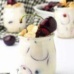 Summer Sweet Cherry Parfait with Creamy Lemon Ricotta