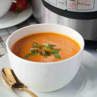 Wholesome Instant Pot Creamy Tomato Soup
