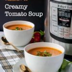 Wholesome Instant Pot Creamy Tomato Soup - Flavour and Savour