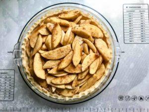 Apple Filling for Gluten-Free Dutch Apple Pie with Almond Flour Crust
