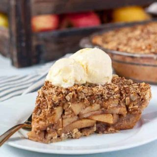 Gluten-Free Dutch Apple PIe