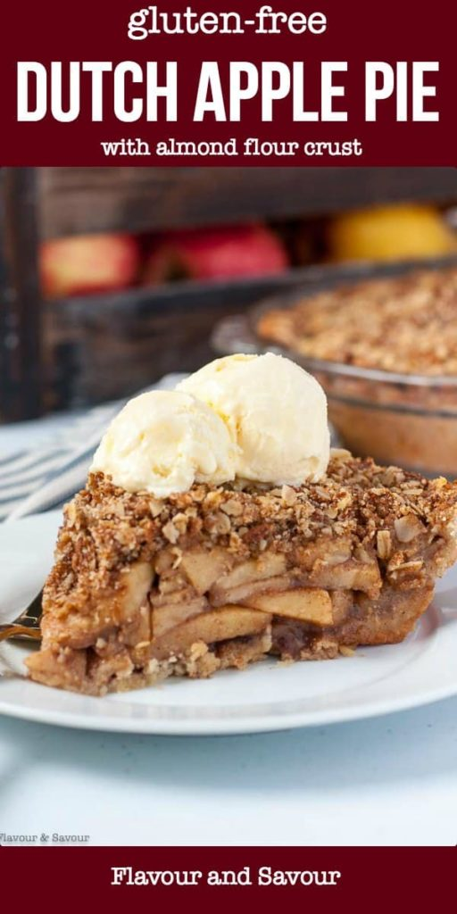 Pinterest Pin for Gluten-Free Dutch Apple Pie