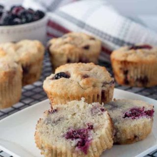 Ultra Moist Keto Blackberry Muffins – Keto, Paleo