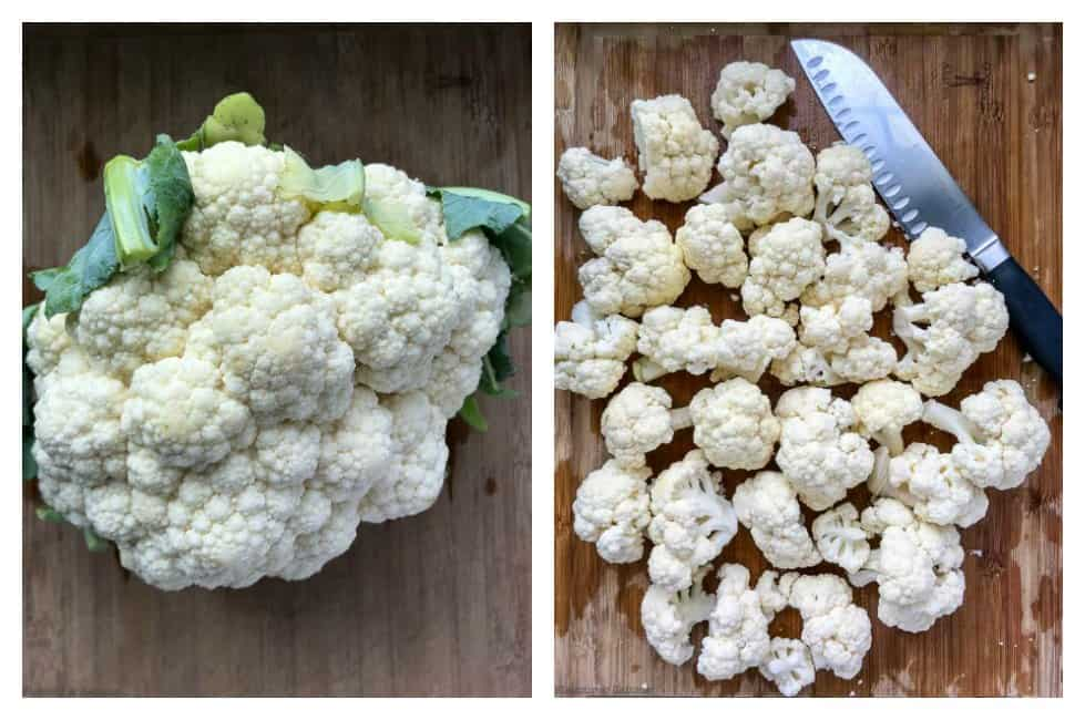 caulliflower for Slow Cooker Moroccan Harissa Cauliflower Soup