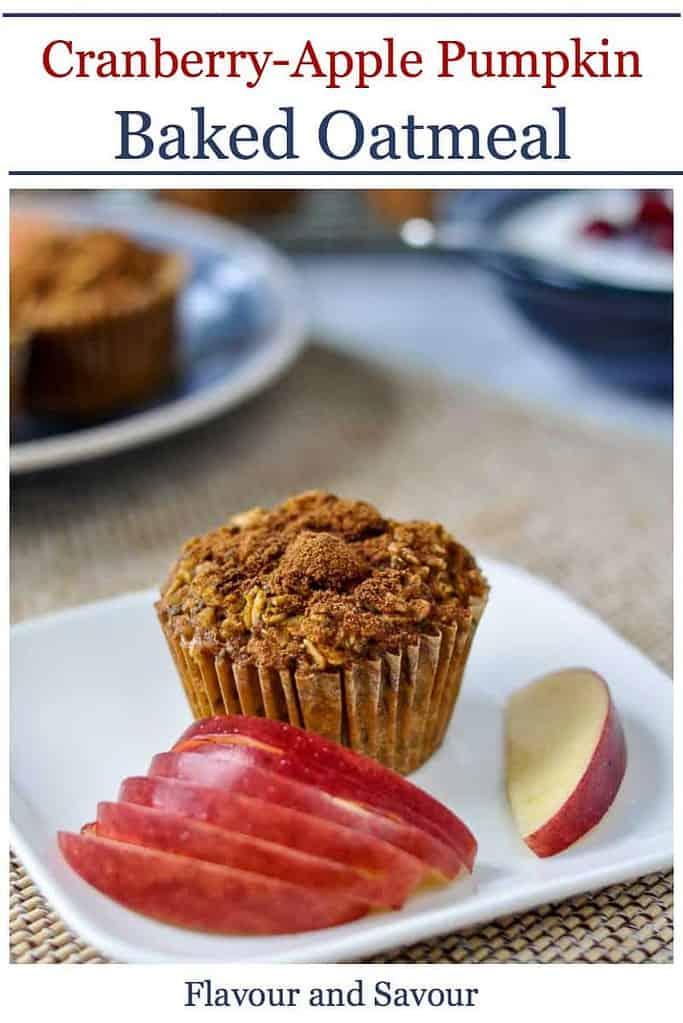 Pinterest Pin for Pumpkin Baked Oatmeal