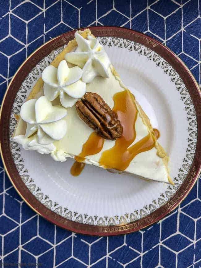 Creamy Gluten-Free Pumpkin Cheesecake