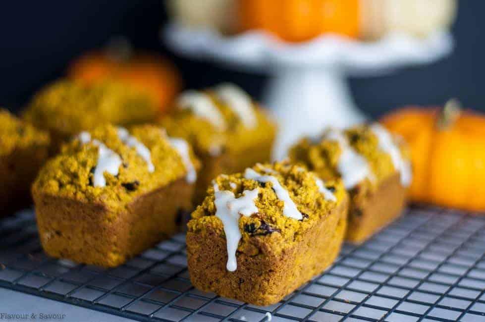Mini Gluten-Free Dairy-Free Pumpkin Bread or Muffins