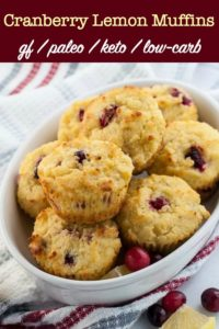 Gluten-Free Cranberry Lemon Muffins title