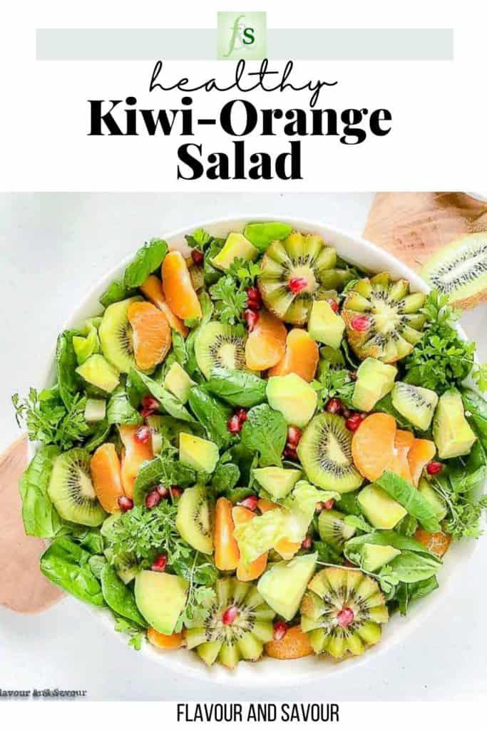 Text and Image for Kiwi-Orange Salad