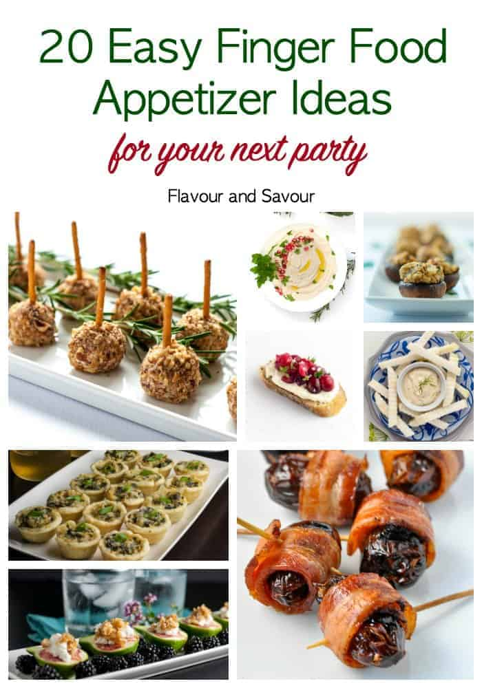 20 Easy Finger Food Appetizers Flavour And Savour