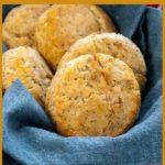 Herbed Gluten-Free Baking Powder Biscuits pin