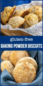 Herbed Gluten-Free Baking Powder Biscuits pin