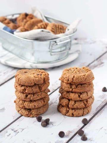 Easiest Ever 4-Ingredient Peanut Butter Cookies