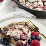 Cherry Berry Gluten-Free Clafoutis