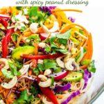 Crunchy Thai Noodle Salad pin