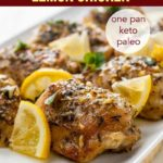 PInterest PIn for Easy Baked Lemon Chicken