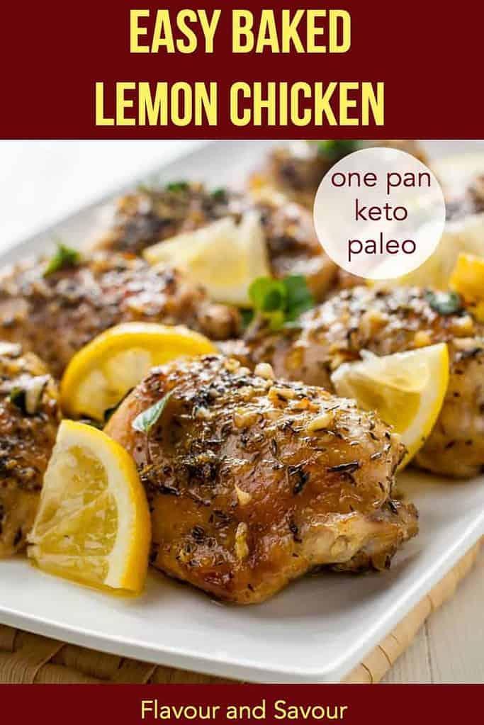 PInterest PIn for Easy Baked Lemon Chicken